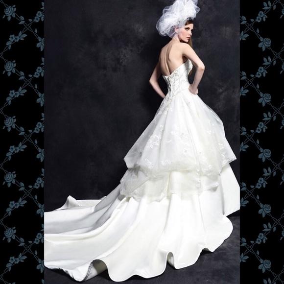 Eden Bridals Dresses Black Label Lace Wedding Gown Size 14 Poshmark